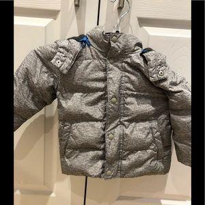 GAP/Boy's/Gray/Size 2T/Winter Puffer Coat/